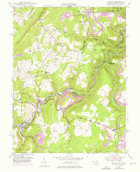 Download a high-resolution, GPS-compatible USGS topo map for Gorman, MD (1976 edition)