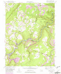 Download a high-resolution, GPS-compatible USGS topo map for Gorman, MD (1982 edition)