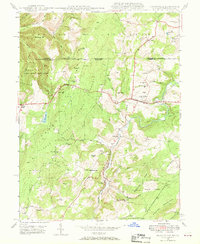 Download a high-resolution, GPS-compatible USGS topo map for Grantsville, MD (1969 edition)