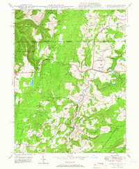 Download a high-resolution, GPS-compatible USGS topo map for Grantsville, MD (1966 edition)