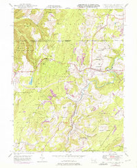Download a high-resolution, GPS-compatible USGS topo map for Grantsville, MD (1976 edition)