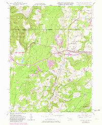 Download a high-resolution, GPS-compatible USGS topo map for Grantsville, MD (1982 edition)