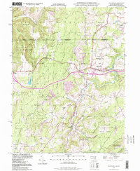 Download a high-resolution, GPS-compatible USGS topo map for Grantsville, MD (1999 edition)