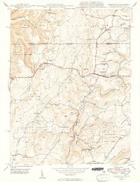 Download a high-resolution, GPS-compatible USGS topo map for Grantsville, MD (1949 edition)