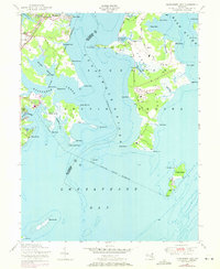 Download a high-resolution, GPS-compatible USGS topo map for Gunpowder Neck, MD (1971 edition)