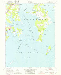 Download a high-resolution, GPS-compatible USGS topo map for Gunpowder Neck, MD (1979 edition)