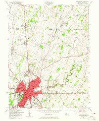 Download a high-resolution, GPS-compatible USGS topo map for Hagerstown, MD (1965 edition)