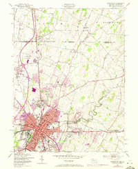 Download a high-resolution, GPS-compatible USGS topo map for Hagerstown, MD (1972 edition)