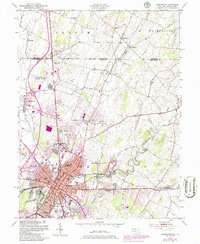 Download a high-resolution, GPS-compatible USGS topo map for Hagerstown, MD (1986 edition)
