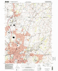 Download a high-resolution, GPS-compatible USGS topo map for Hagerstown, MD (2002 edition)