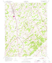 Download a high-resolution, GPS-compatible USGS topo map for Hampstead, MD (1975 edition)