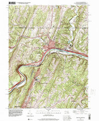 Download a high-resolution, GPS-compatible USGS topo map for Hancock, MD (2000 edition)