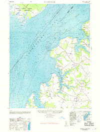Download a high-resolution, GPS-compatible USGS topo map for Hanesville, MD (1969 edition)