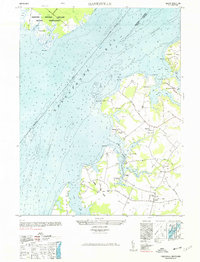 Download a high-resolution, GPS-compatible USGS topo map for Hanesville, MD (1977 edition)