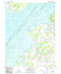 Download a high-resolution, GPS-compatible USGS topo map for Hanesville, MD (1991 edition)