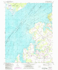 Download a high-resolution, GPS-compatible USGS topo map for Hanesville, MD (1985 edition)