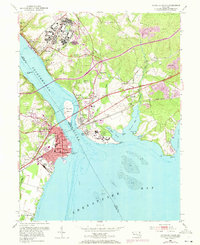 Download a high-resolution, GPS-compatible USGS topo map for Havre De Grace, MD (1971 edition)