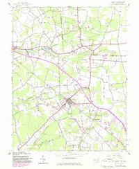 Download a high-resolution, GPS-compatible USGS topo map for Hebron, MD (1983 edition)