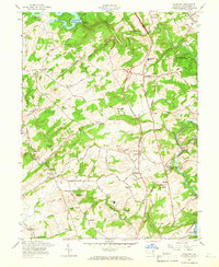 Download a high-resolution, GPS-compatible USGS topo map for Hereford, MD (1966 edition)