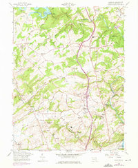 Download a high-resolution, GPS-compatible USGS topo map for Hereford, MD (1975 edition)
