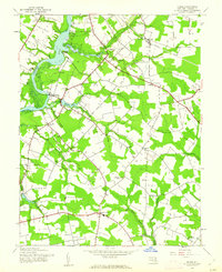 Download a high-resolution, GPS-compatible USGS topo map for Hobbs, MD (1962 edition)