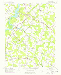 Download a high-resolution, GPS-compatible USGS topo map for Hobbs, MD (1976 edition)