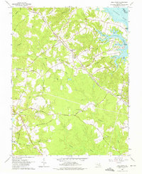 Download a high-resolution, GPS-compatible USGS topo map for Hollywood, MD (1975 edition)