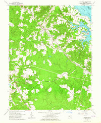 Download a high-resolution, GPS-compatible USGS topo map for Hollywood, MD (1964 edition)