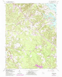 Download a high-resolution, GPS-compatible USGS topo map for Hollywood, MD (1985 edition)