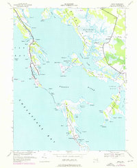 Download a high-resolution, GPS-compatible USGS topo map for Honga, MD (1976 edition)