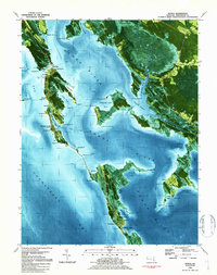 Download a high-resolution, GPS-compatible USGS topo map for Honga, MD (1984 edition)