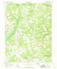 Download a high-resolution, GPS-compatible USGS topo map for Hughesville, MD (1969 edition)