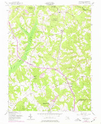 Download a high-resolution, GPS-compatible USGS topo map for Hughesville, MD (1977 edition)