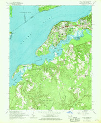 Download a high-resolution, GPS-compatible USGS topo map for Indian Head, MD (1968 edition)