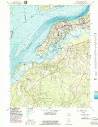 Download a high-resolution, GPS-compatible USGS topo map for Indian Head, MD (1987 edition)