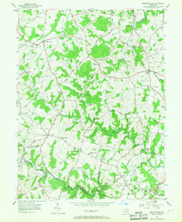 Download a high-resolution, GPS-compatible USGS topo map for Jarrettsville, MD (1967 edition)