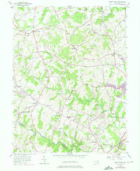 Download a high-resolution, GPS-compatible USGS topo map for Jarrettsville, MD (1975 edition)