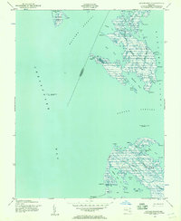 Download a high-resolution, GPS-compatible USGS topo map for Kedges Straits, MD (1957 edition)