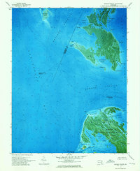 Download a high-resolution, GPS-compatible USGS topo map for Kedges Straits, MD (1975 edition)