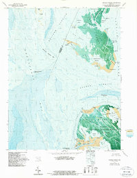 Download a high-resolution, GPS-compatible USGS topo map for Kedges Straits, MD (1987 edition)