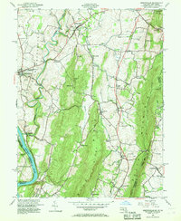 Download a high-resolution, GPS-compatible USGS topo map for Keedysville, MD (1968 edition)
