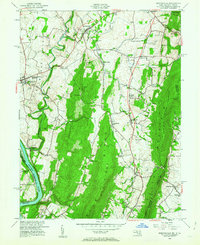 Download a high-resolution, GPS-compatible USGS topo map for Keedysville, MD (1963 edition)
