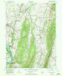 Download a high-resolution, GPS-compatible USGS topo map for Keedysville, MD (1972 edition)