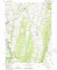 Download a high-resolution, GPS-compatible USGS topo map for Keedysville, MD (1989 edition)