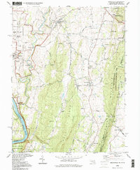 Download a high-resolution, GPS-compatible USGS topo map for Keedysville, MD (1999 edition)