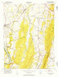 Download a high-resolution, GPS-compatible USGS topo map for Keedysville, MD (1954 edition)