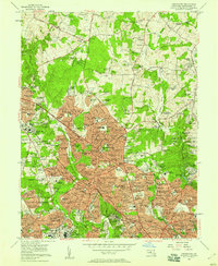 Download a high-resolution, GPS-compatible USGS topo map for Kensington, MD (1958 edition)