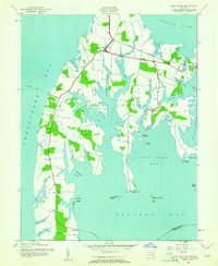 Download a high-resolution, GPS-compatible USGS topo map for Kent Island, MD (1961 edition)