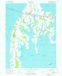 Download a high-resolution, GPS-compatible USGS topo map for Kent Island, MD (1976 edition)