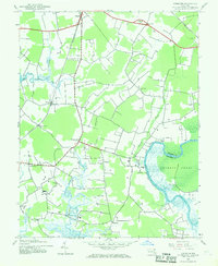 Download a high-resolution, GPS-compatible USGS topo map for Kingston, MD (1969 edition)